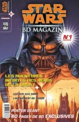 Star Wars BD Magazine #01