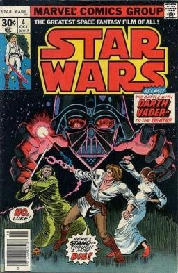 Marvel Star Wars # 4: In Battle with Darth Vader