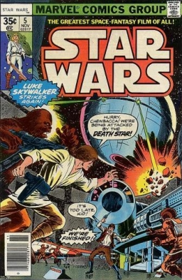 Marvel Star Wars # 5: Lo, The Moons of Yavin