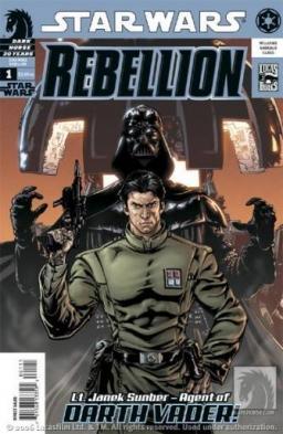 Lt. Janek Sunber - Agent of Darth Vader