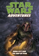 Couverture de Boba Fett and the Ship of Fear