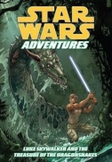 Couverture de Luke Skywalker and the Treasure of the Dragonsnakes