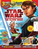 Couverture de Star Wars: The Clone Wars Comic UK 6.5