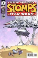 Couverture de Sergio Aragones Stomps Star Wars